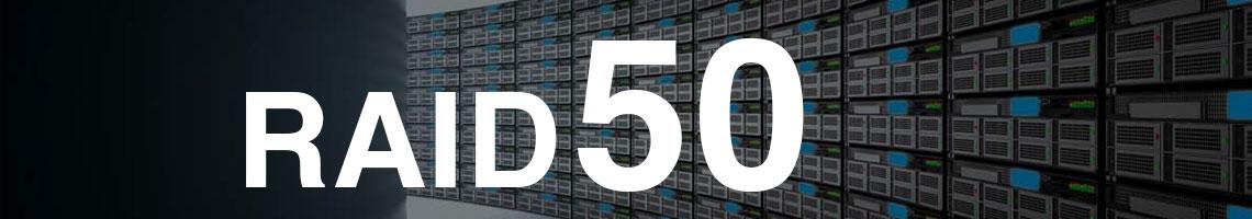 RAID 50 ou RAID 5+0 - Seis ou mais discos trabalhando em conjunto