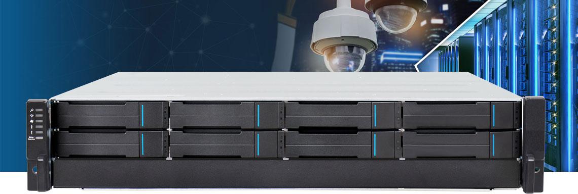 Servidores para câmeras IP em instalações corporativas